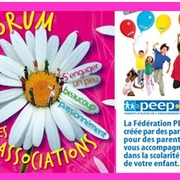 Stand PEEP au Forum des associations